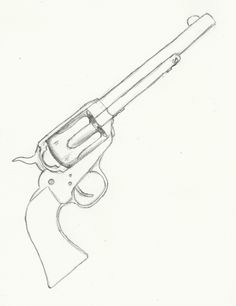 236x306 9mm Pistol, Drawings Of And Pistols On Guns