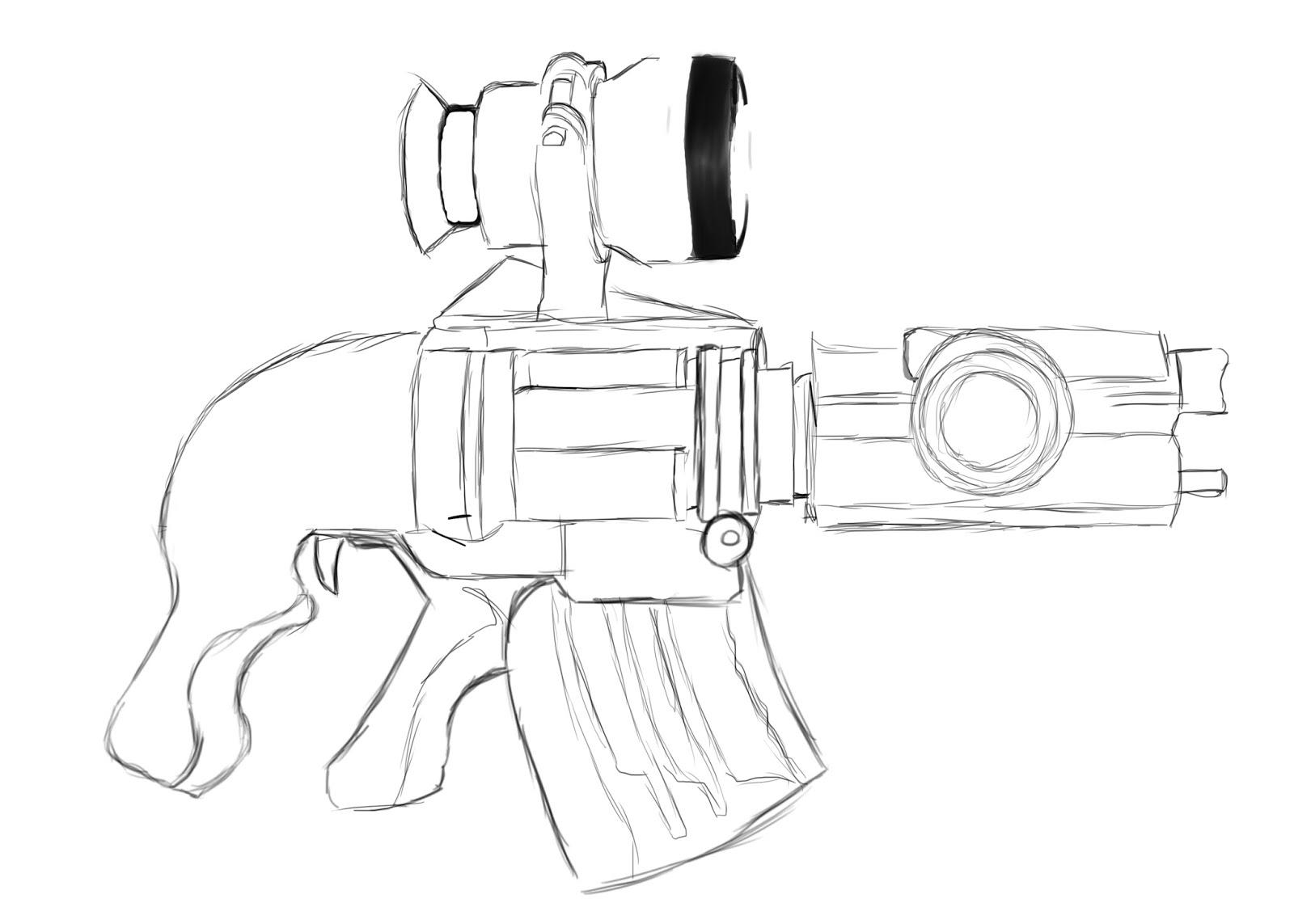 1600x1143 The Small Things My Futuristic Gun