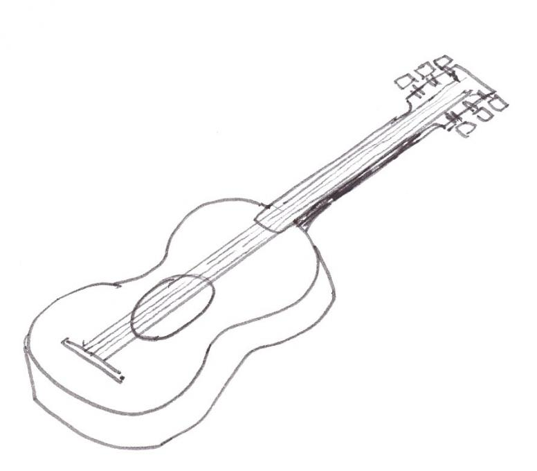 776x680 Guitar. Life People. Drawings. Pictures. Drawings Ideas For Kids