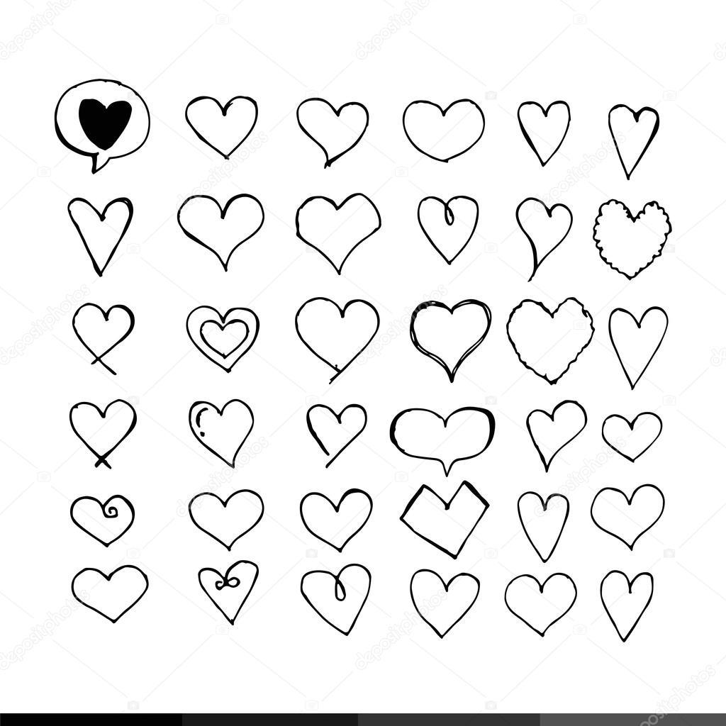 1024x1024 Simple Heart Icon Stock Vector Porjai