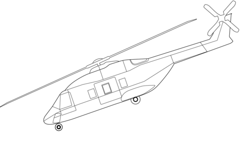 480x304 Nh90 Helicopter Coloring Page Free Printable Coloring Pages