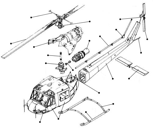 500x424 How Helicopters Work