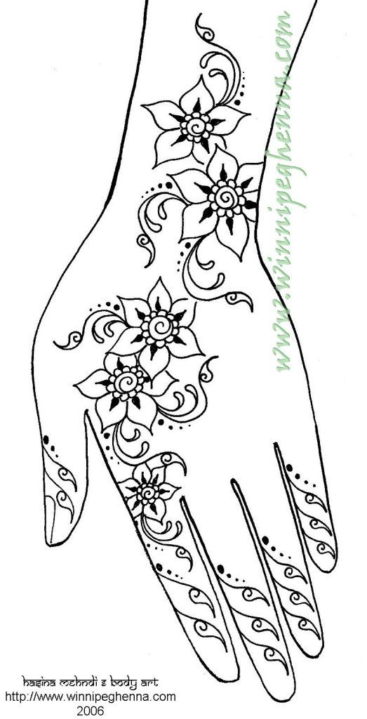 523x1024 Free Sample Henna Designs And Patterns
