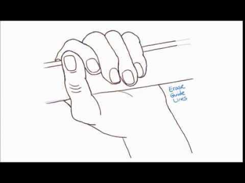 480x360 How To Draw A Hand Gripping Or Holding