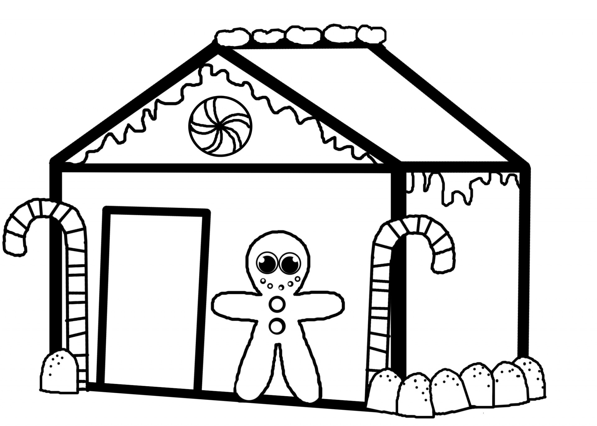 1920x1371 Top 80 House Coloring Pages