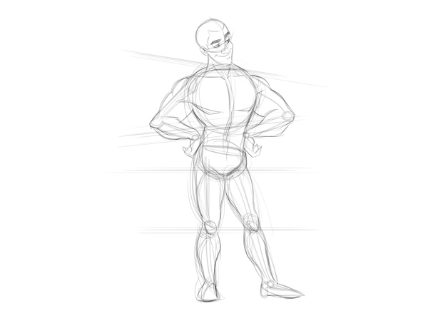 Simple Human Body Drawing At Getdrawings Free For Personal Use