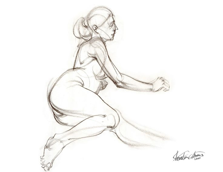 Simple Human Figure Drawing