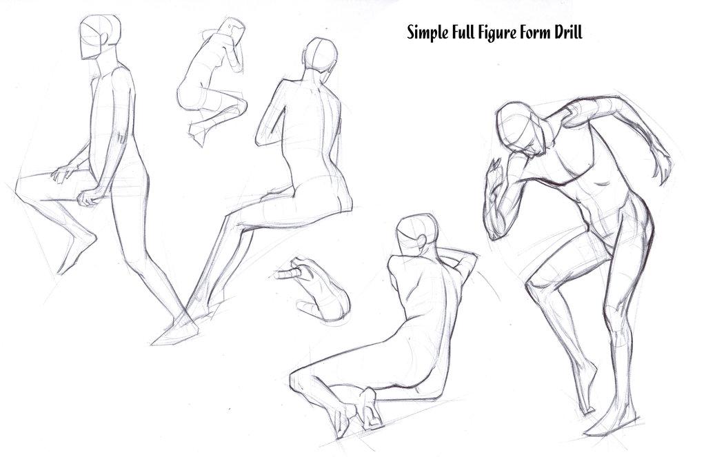 1024x663 Full Figure Form Drill By Funkymonkey1945