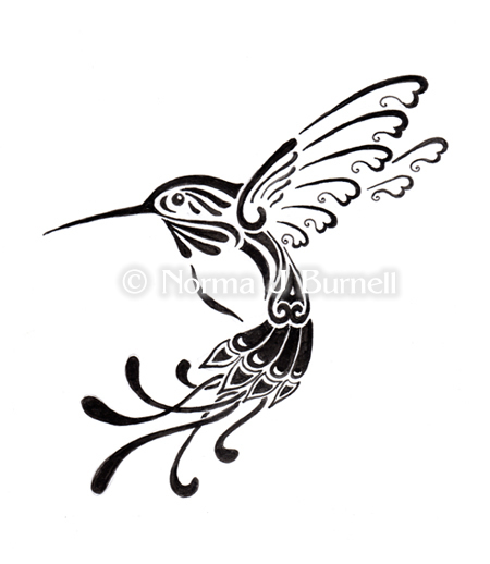 Simple Hummingbird Drawing At Getdrawings Com Free For Personal