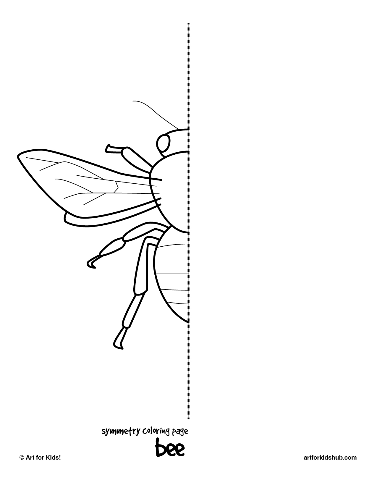Simple Insect Drawing