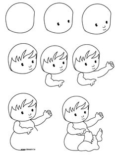 236x314 Gallery Drawing Babies Step By Step,