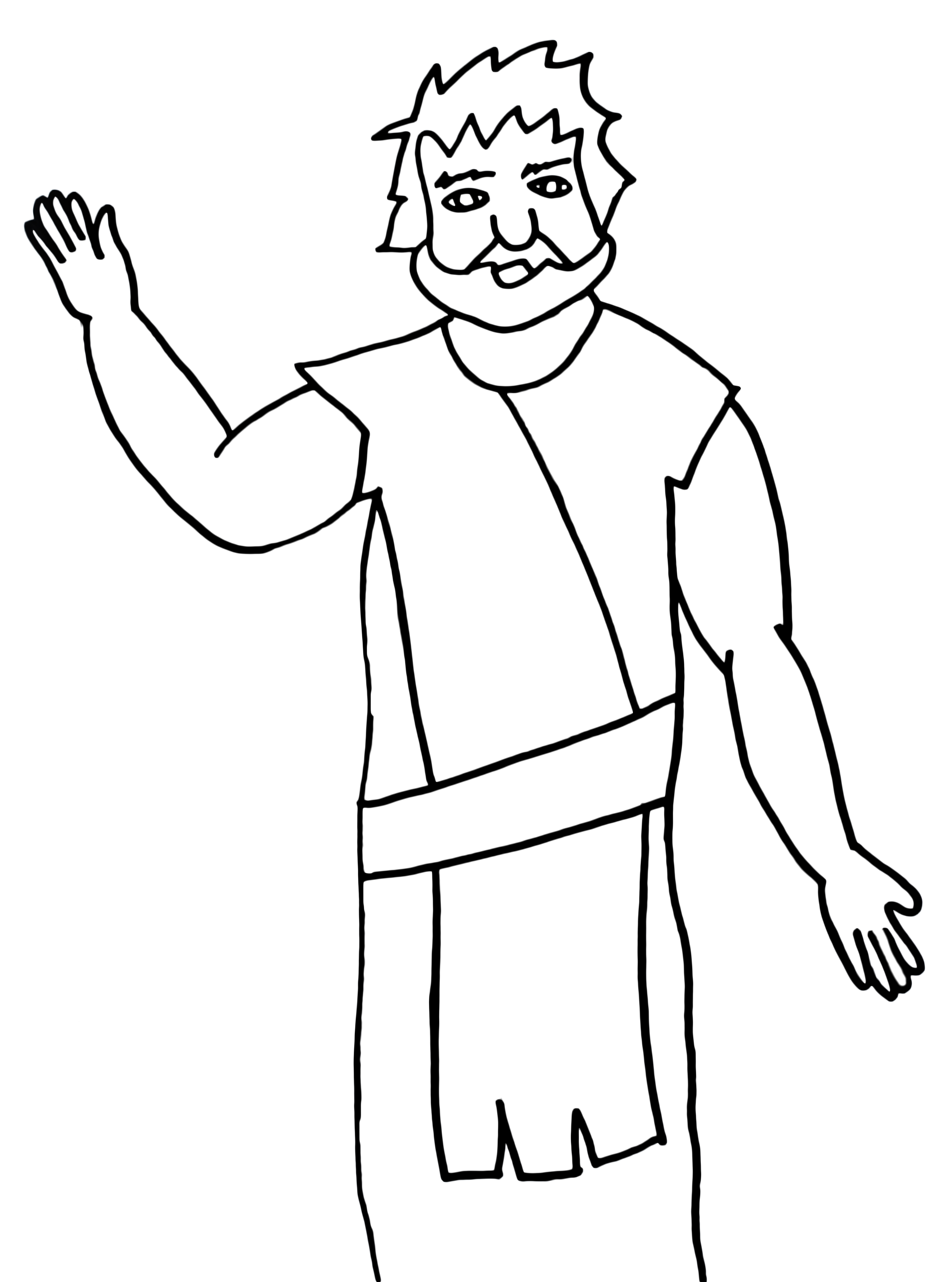 simple jesus drawing at getdrawings com free for personal use rh getdrawings com  lds clipart baptism of jesus