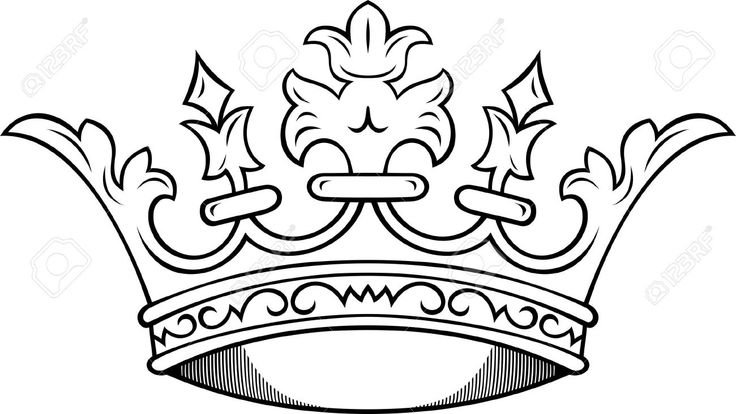 736x414 Top King Crown Outline Images For Tattoos Jojo