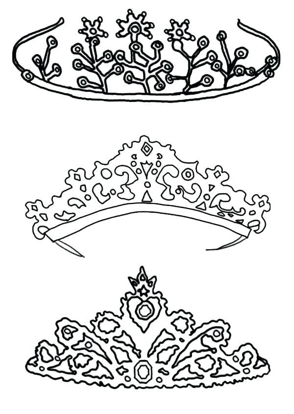 600x844 Crown Coloring Pages U2013 Hiseek.info