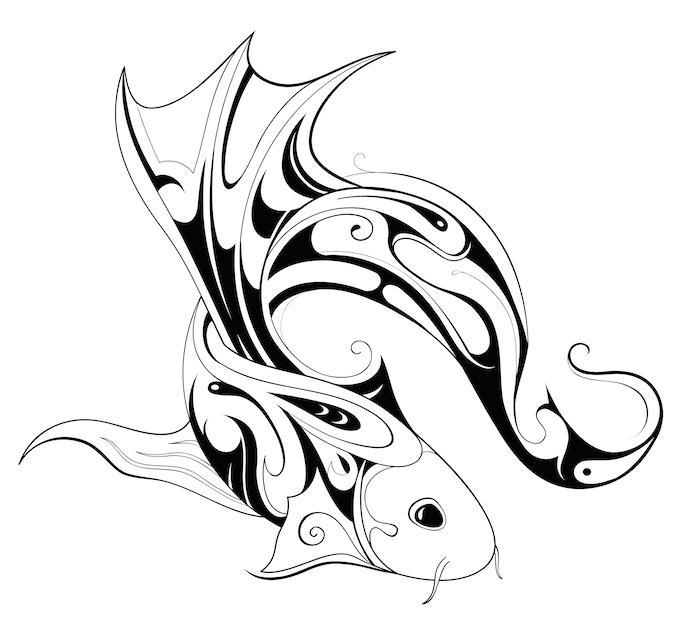 700x638 Koi Fish Tattoo Meaning