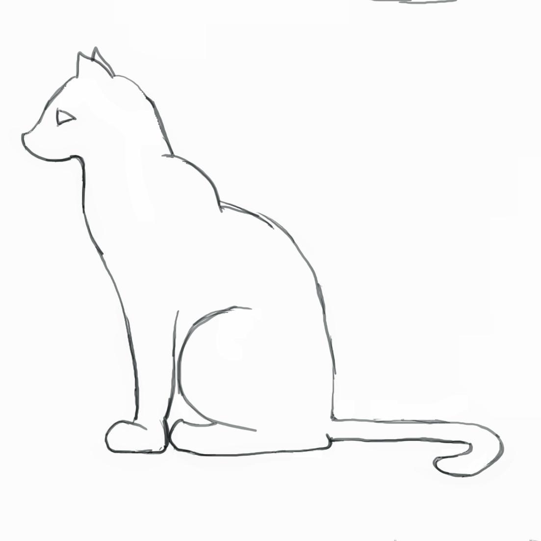1103x1103 Simple Koi Fish Drawing