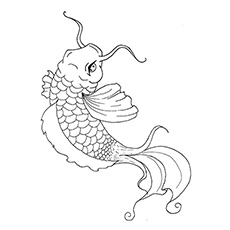 230x230 Top 25 Free Printable Koi Fish Coloring Pages Online