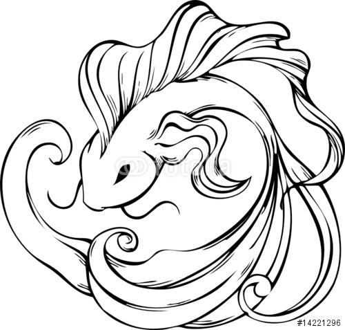 500x477 Pretty Koi Fish Tattoos