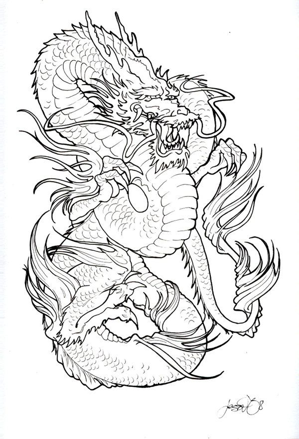600x882 Collection Of 25 Kids Coloring Pages A Koi Fish Tattoo Design