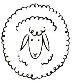 250x281 How Draw Sheep Amp Lambs Drawing Tutorials Amp Drawing Amp How