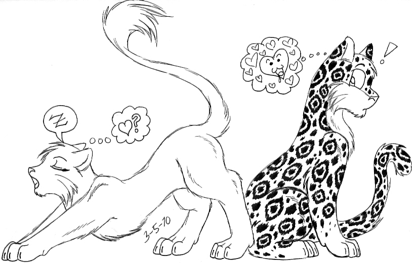 814x520 Cheetah Character Design Process On Behance. Leopard Leaping. Pin