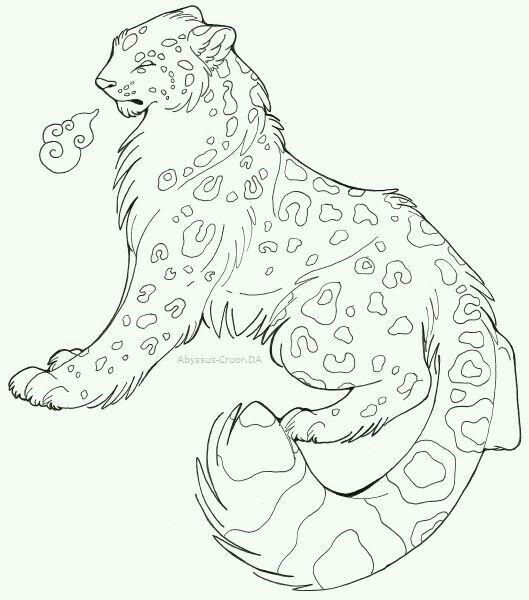 529x600 Draw Snow Leopard 18 Step. Human Anatomy Drawings Awesome Leopard