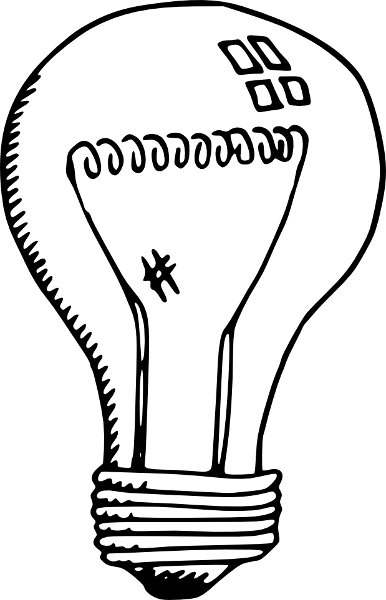 386x600 Free Lightbulb Clipart, 2 Pages Of Public Domain Clip Art
