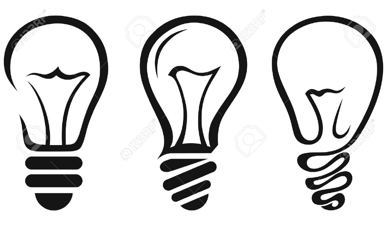 1300x759 Light Bulb. Vector Royalty Free Cliparts, Vectors, And Stock