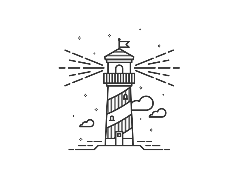 800x600 Lighthouse Bright, Dark And Guy