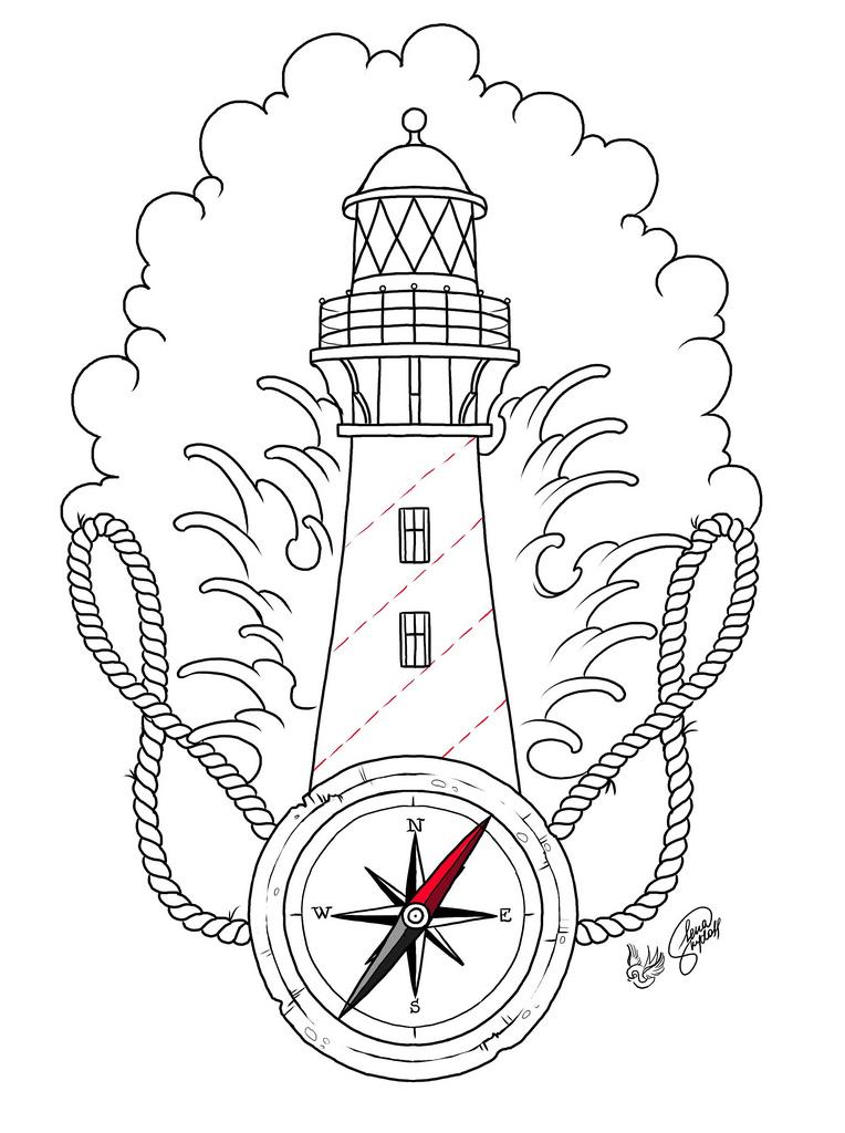 764x1024 Lighthouse