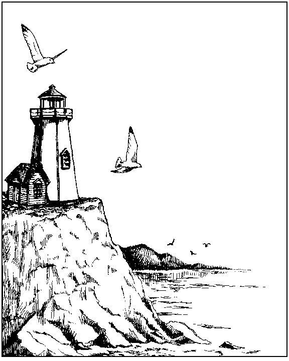 576x720 Coloring A Lighthouse And Boats Since A Porthole Picture