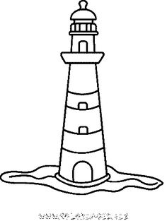 236x313 Coloring Pictures Of Lighthouse Kpc Embroidery