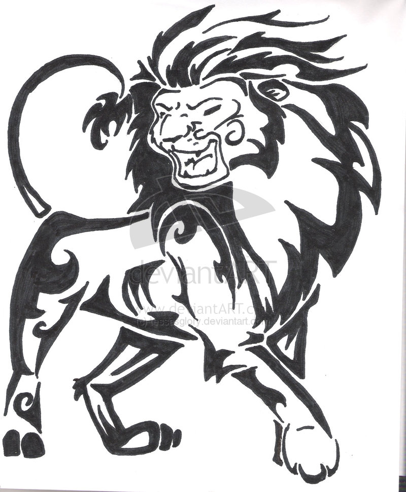 Simple Lion Head Drawing At Getdrawings Com Free For Personal Use