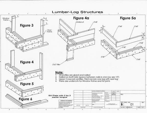 600x464 How To Build A Small Log Cabin