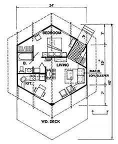 236x288 Small House Floorplans