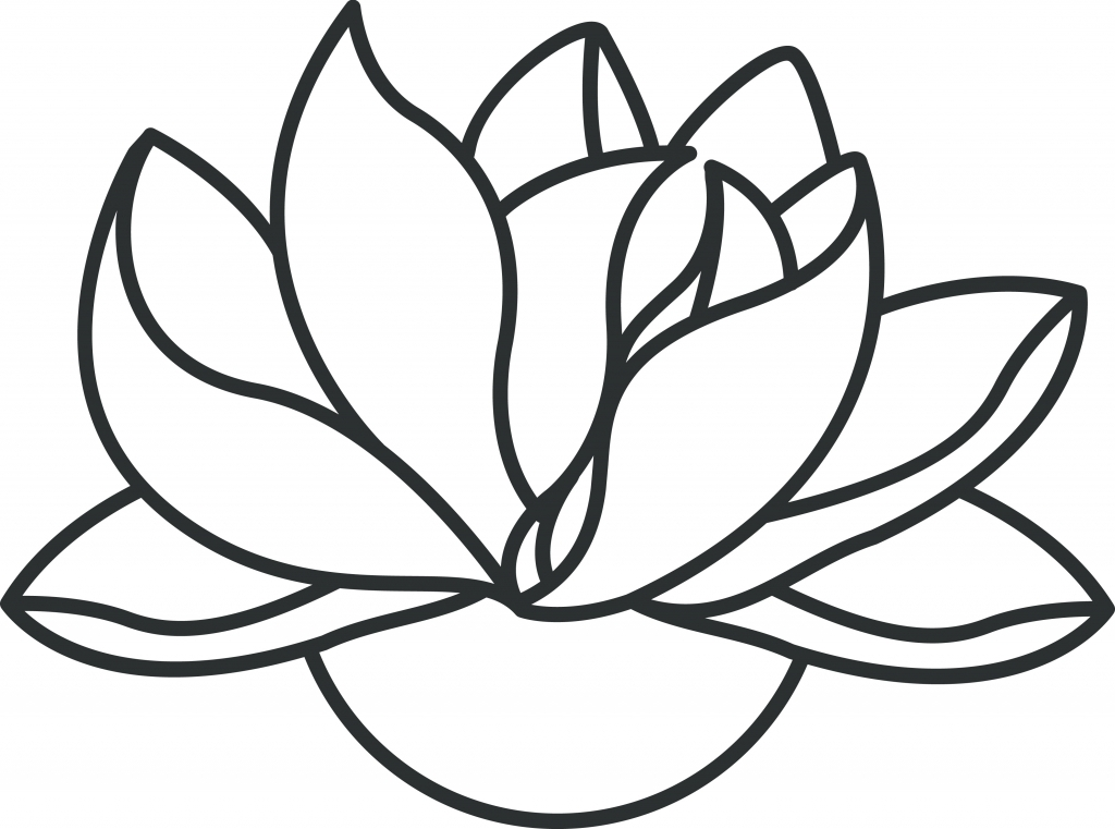 1024x761 Simple Lotus Flower Simple Lotus Drawing How To Draw A Lotus