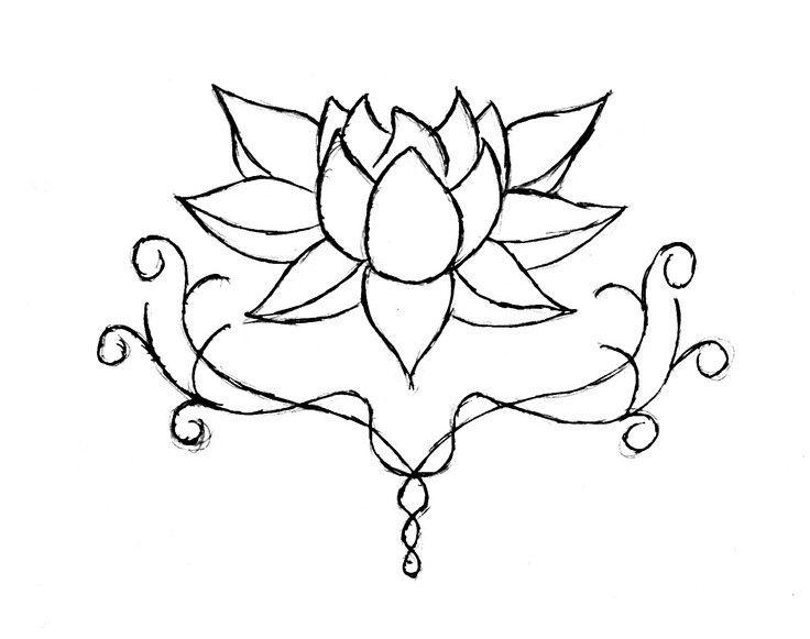 736x581 Pin Byromeda Flynn On Tattoo Designs Lotus
