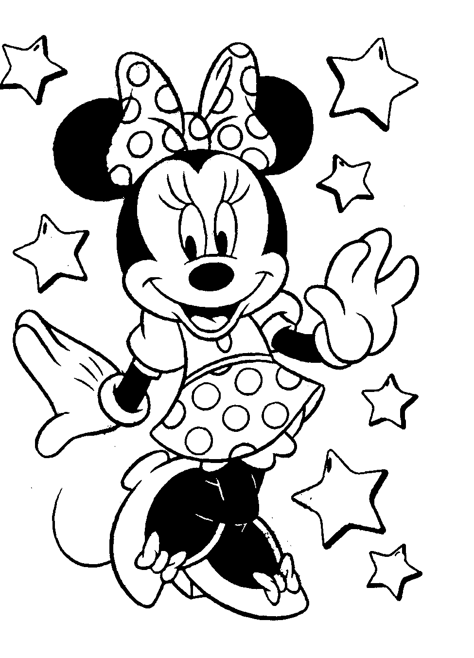 975x1353 How To Draw Mickey Mouse And Minnie Mouse