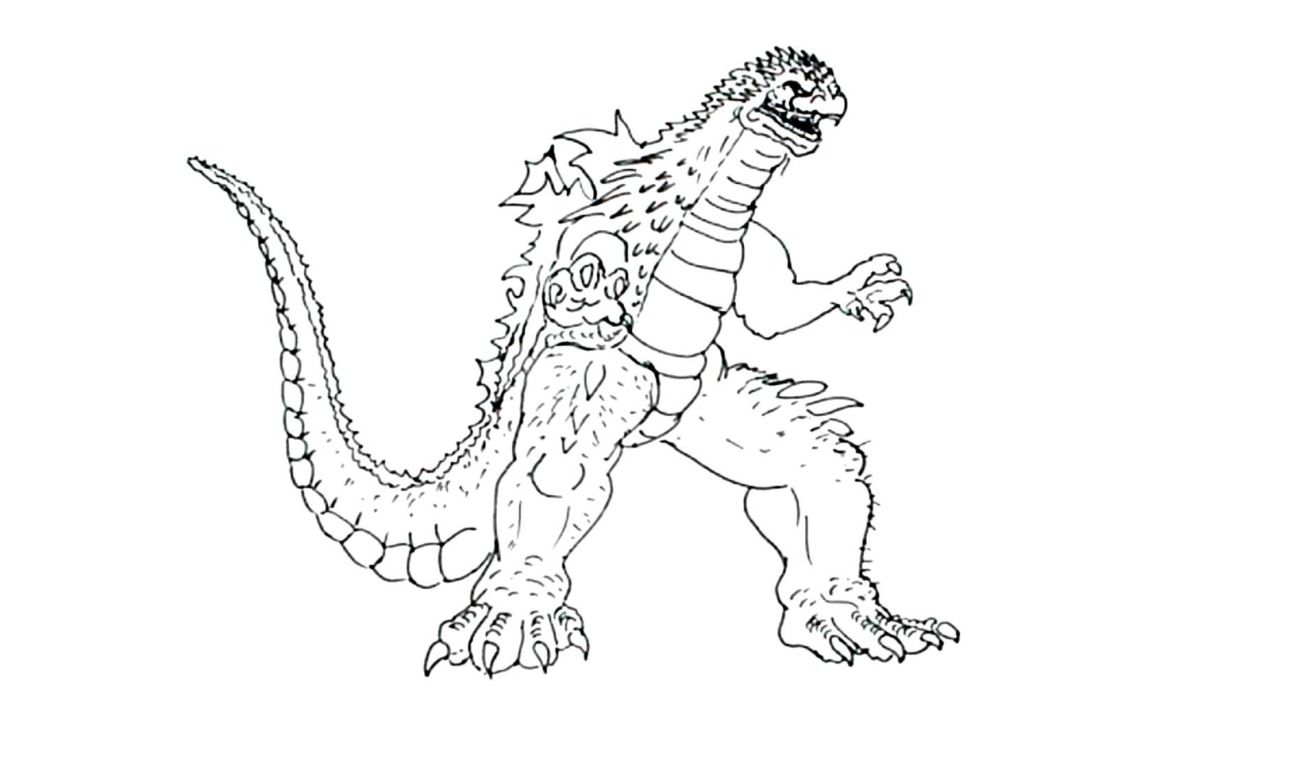 1886x1118 How To Draw Godzilla