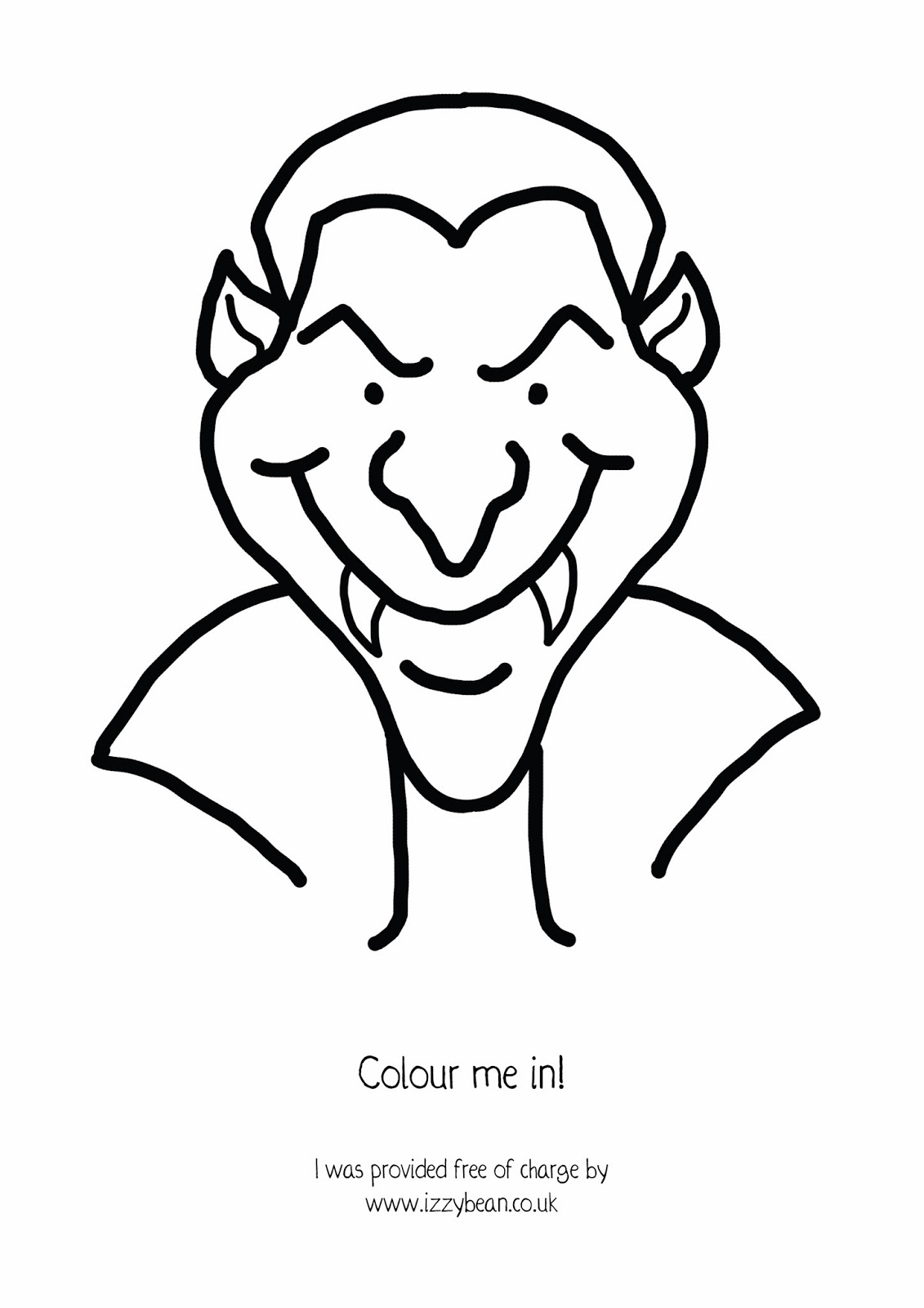 1131x1600 Izzy Bean Illustrations Step By Step Halloween Dracula Vampire