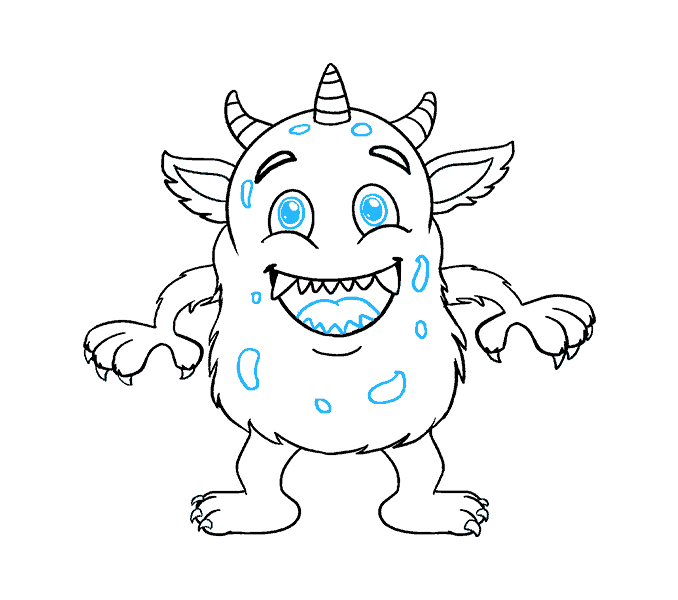 678x600 Pictures Cartoon Monster Drawings,