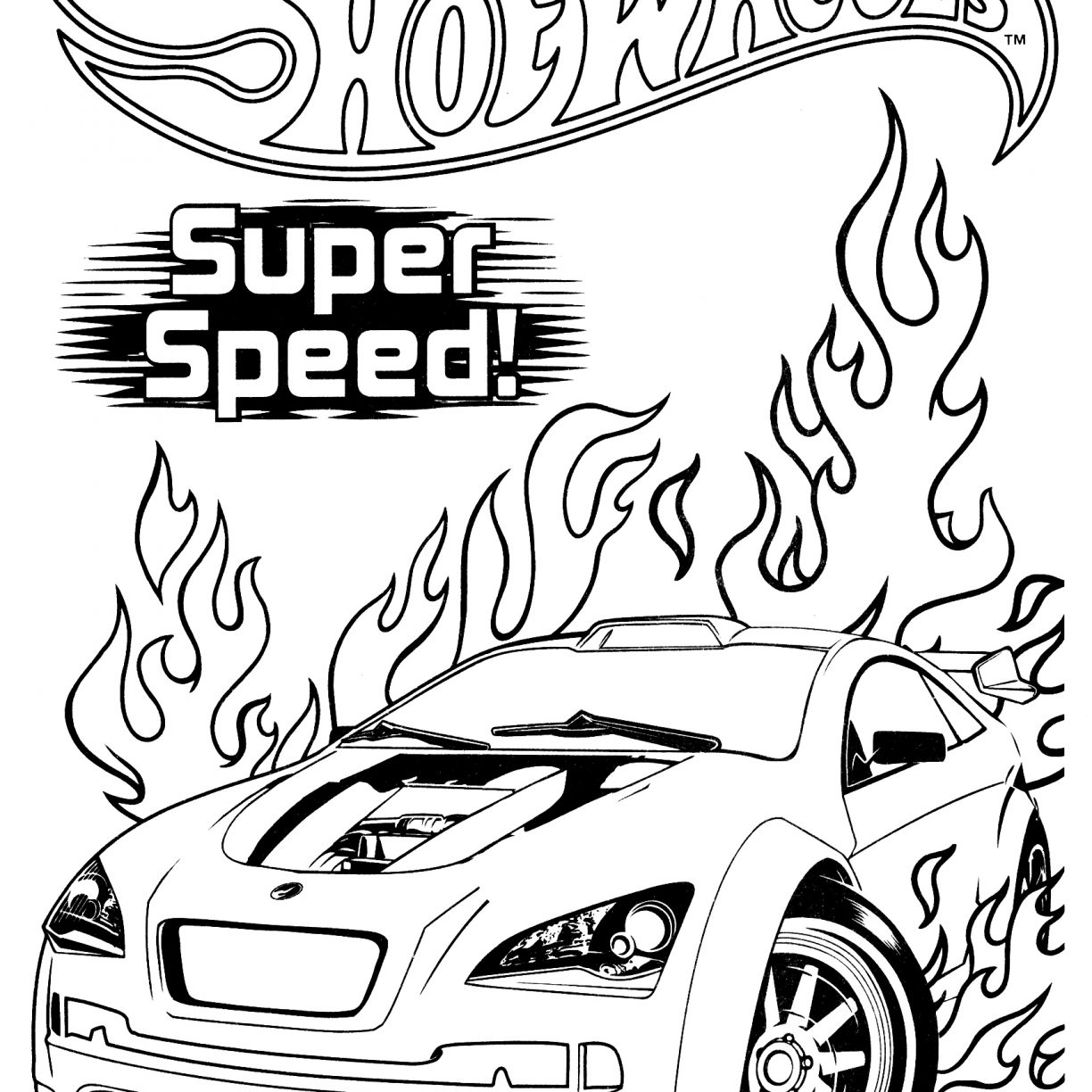1224x1224 Hot Wheels Coloring Pages Team Green Hard Extreme Adult Motorcycle