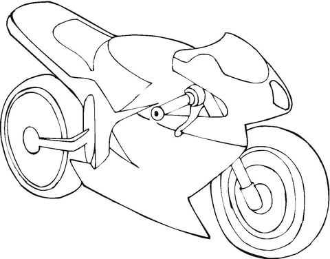 480x376 Stealth Motorcycle Coloring Page Free Printable Coloring Pages