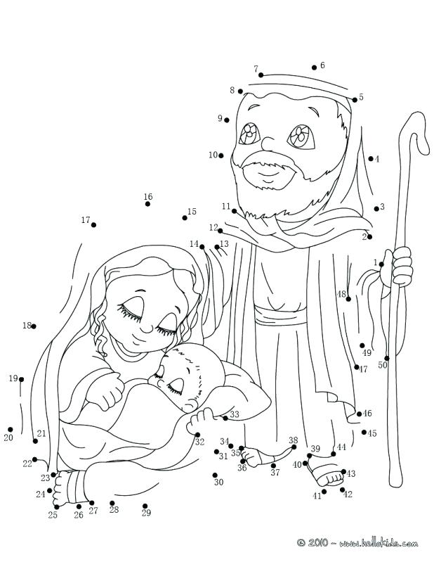 618x799 Holy Family Coloring Page Holy Family Simple Nativity Scene
