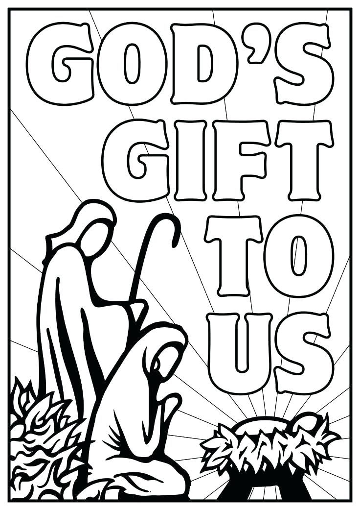 736x1041 Nativity Color Page Nativity Coloring Pages Coloring For Kids