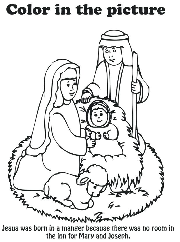 618x830 Nativity Coloring Coloring Pages Remarkable Nativity Scene Page