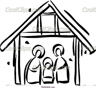 375x342 Nativity Scene Clip Art For Kids Clipart Panda