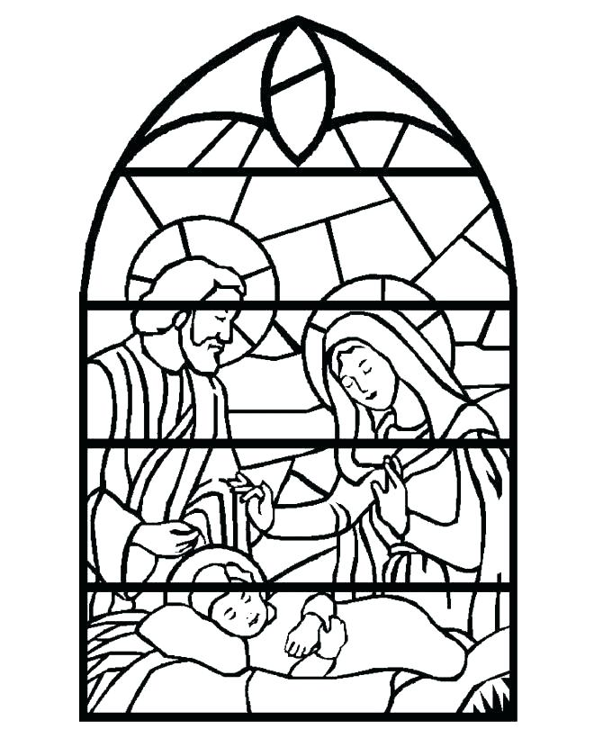 670x820 Printable Nativity Coloring Pages Nativity Coloring Pages For Kids
