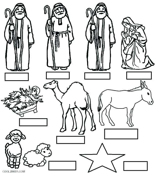 630x709 Printable Nativity Scene Coloring Pages Coloring Pages Nativity