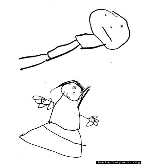 570x663 How The Quality Of Your Child's Stick Drawings Are Linked